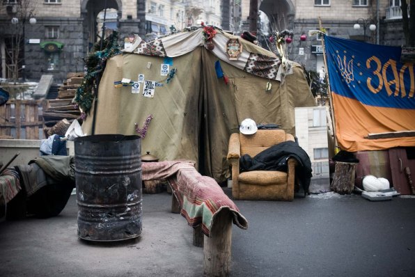 Ukraine, Maidan Square, February 2014