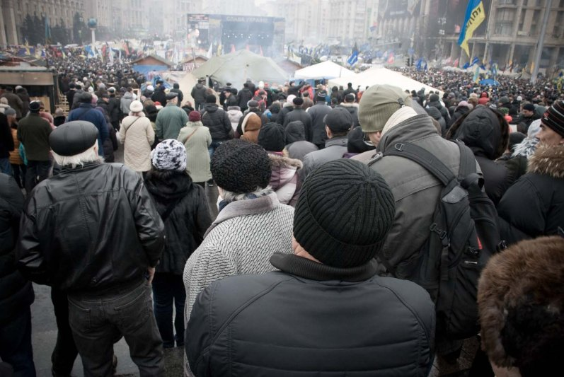 Ukraine, Maidan Square, February 2014 ©LucaFiore