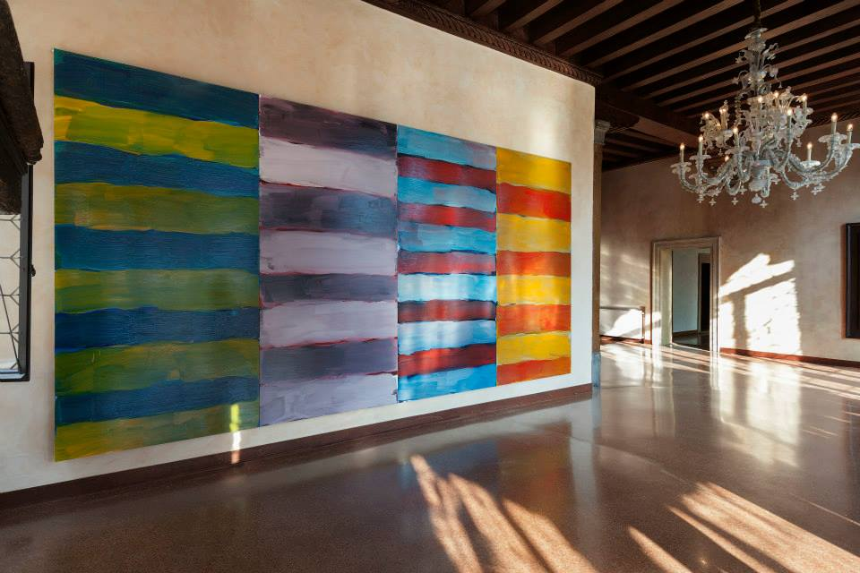 Sean Scully, Venice, 2015